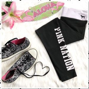 PINK Yoga by Victorias Secret Pink Nation Leggings